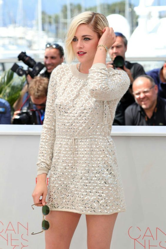 """Kristen Stewart attends photocall for """"Personal Shopper"""" during 2016 Cannes International Film Festival at the Palais des Festivals in Cannes, France."""