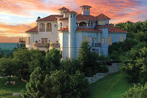 extraordinary because of the location:  Castle on the Hill.  Fort Worth, Texas