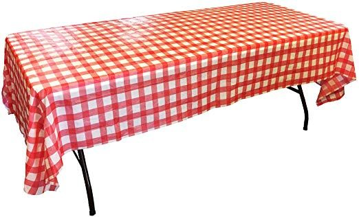 Plastic Table Cloths For Parties Disposable Tablecloths