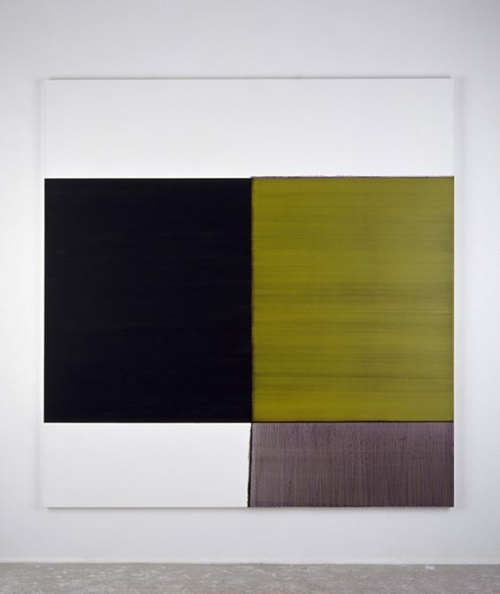Exposed Painting Cinnibar Green - Callum Innes. #lifeinstyle #greenwithenvy