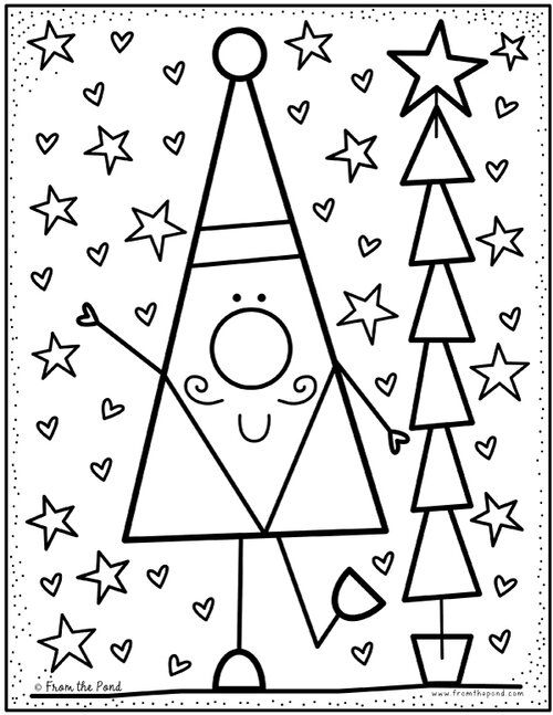 Christmas Pond Coloring Club In 2020 Christmas Coloring Pages Preschool Christmas Christmas Kindergarten