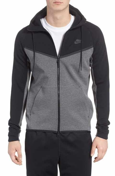Nike Tech Fleece Hooded Jacket Nike Tech Fleece Hoodie Outfit Men Mens Outfits