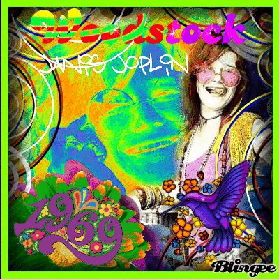 Janis Joplin and Woodstock 69   JANIS JOPLIN **WOODSTOCK 1969** JANUARY 19, 1943- OCTOBER 4, 1970 REMAINS AN ICON FOR FEMALE SINGERS AS BREAKING THROUGH IN A MALE DOMINATED BLUES SCENE
