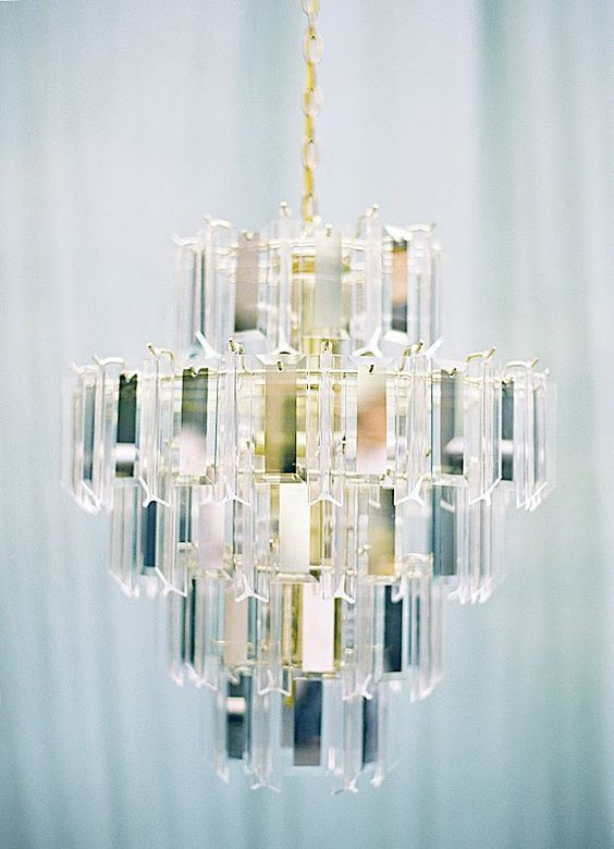 gorgeous glam chandelier