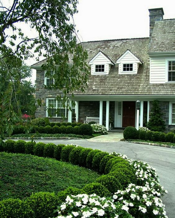 Home Driveway Design Ideas: Landscape Design, Circle Driveway And Landscapes On Pinterest
