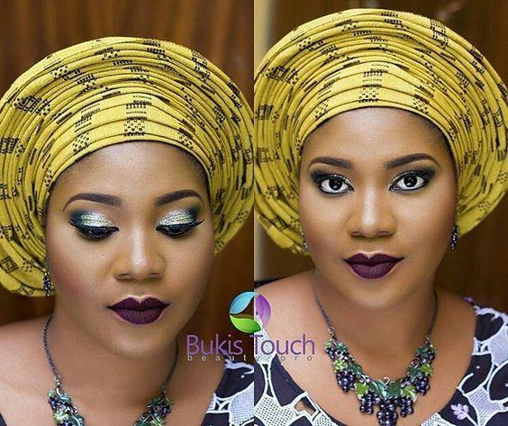 Bridal inspiration makeup MUA @bukistouchbeautypro  #makeuponfleek #naijamua #lagosmua