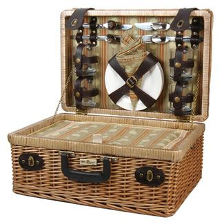 Terazzo Picnic Basket for Four 89.95