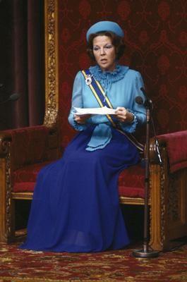 Troonrede 1981: Koningin Beatrix