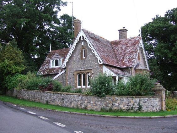 """Grantleigh Manor Lodge"" is in reality the west lodge to Cricket St Thomas:"