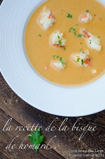 Recipe: Lobster Bisque yum yum version