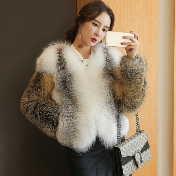 Find More Fur & Faux Fur Information about Woman's Fur Coat Mink ...