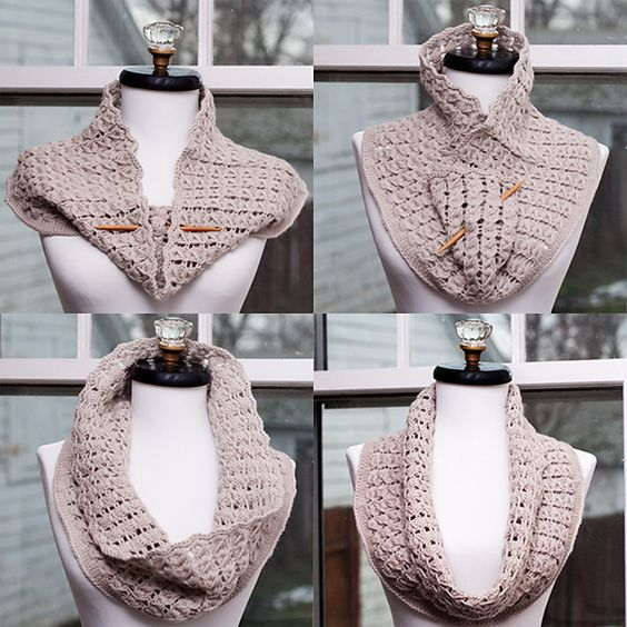 Ravelry: Pavo Knit Cowl pattern by Kalurah