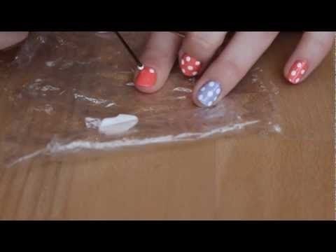 *how-to* Candy Nails - Punkte Nägel - Polka Dots