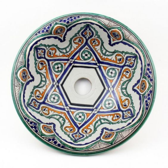Umywalka nablatowa z Maroka FES 35