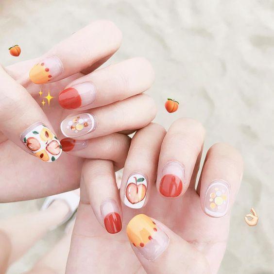 Nails Beauty Nail Art Summer Summer Nails Nail Art Designs