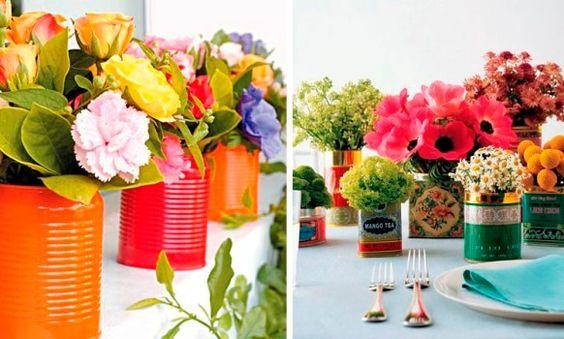 Recipientes para plantas dicas, ideias criativas 2