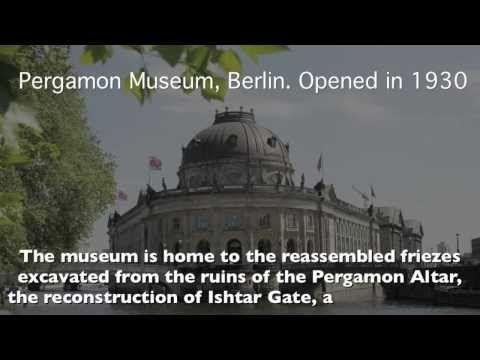 Brain Dead Zombies Obama S Throne Of Satan Pergamon Altar In Revelation 2 Pergamon Pergamon Museum Pergamon Museum Berlin