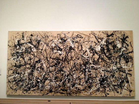Otro clásico de los clásicos del arte Moderno: Jackson Pollock