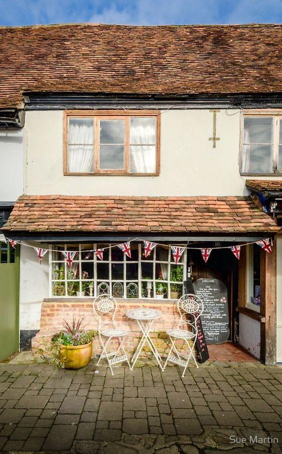 The Bakehouse Tearooms - Biddenden, Kent, England