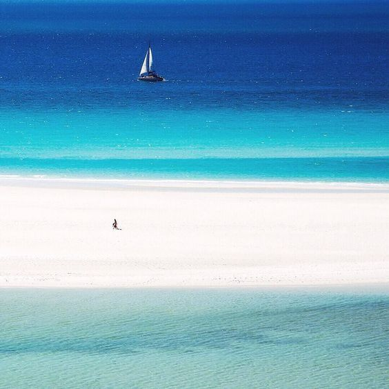 A walk on the beach or a weekend of sailing? by whitsundaysphotography