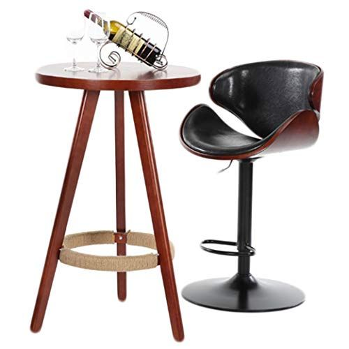 Enjoyable Fauean Bar Stools Height Adjustable Pu Leather Swivel Back Gamerscity Chair Design For Home Gamerscityorg