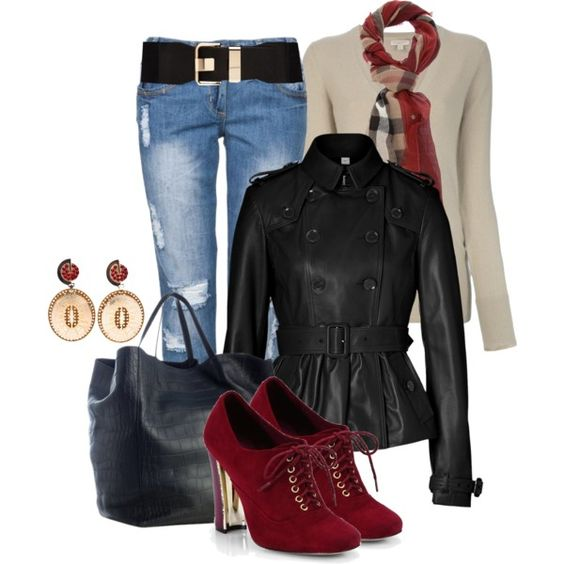 Ankle Boot Oxford - Polyvore