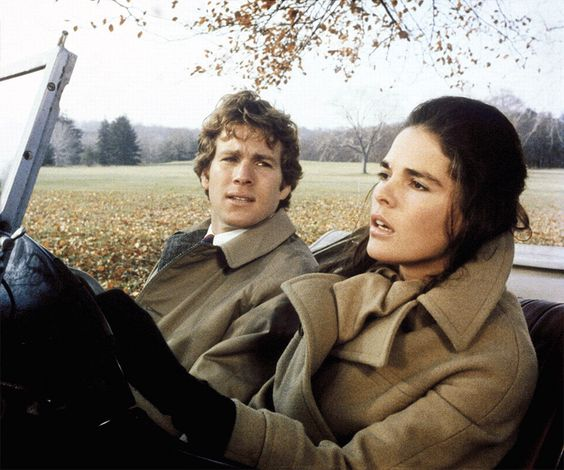 Fear Not, Fall Will Return.Ryan O'Neal and Ali MacGraw, 1970.