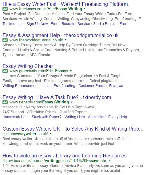 essay writing checker
