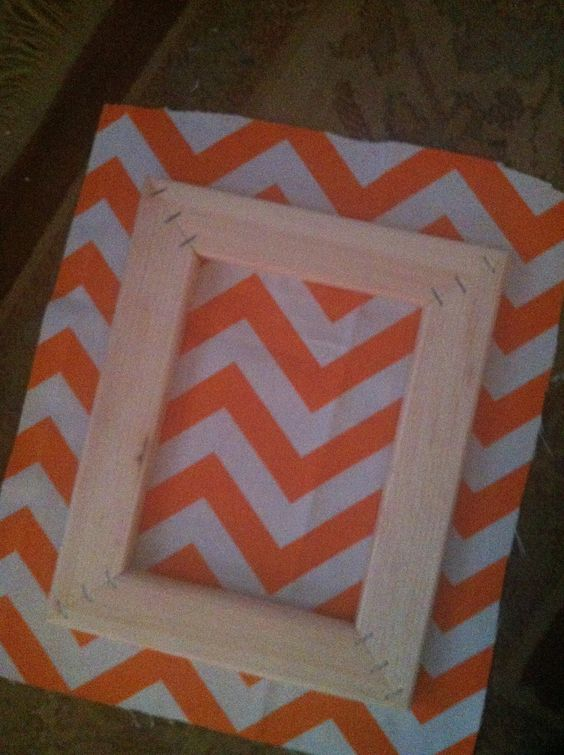 DIY, 8x10 Handmade Wooden Frames, Custom Wood Frames. $4.00, via Etsy.