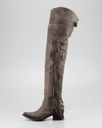 Ash: Butch over the knee boots You're not one to shy away from the ...