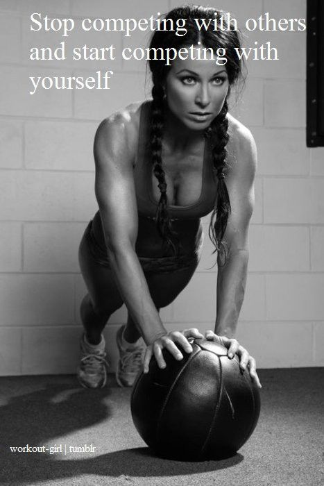 .: Motivational Quote, Remember This, Health Fitness, Fitness Inspiration, So True, Biggest Competition, Fitness Motivation, Start Competing, Medicine Ball