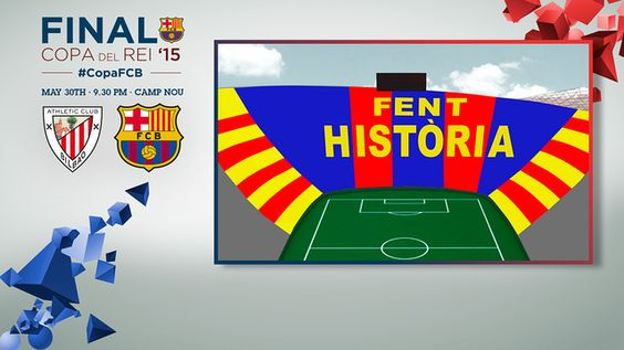 'Fent Història' is Catalan for 'Making History.' / FCB GRAPHIC