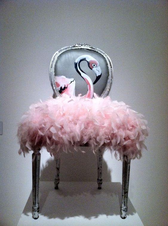Amazing Flamingo Chair
