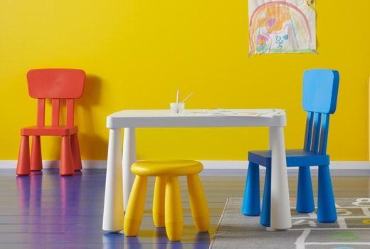 Ikea Furniture Childrens Table, Playroom Furniture Ikea