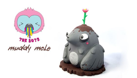 Jenn and Tony Bot Muddy Mole!