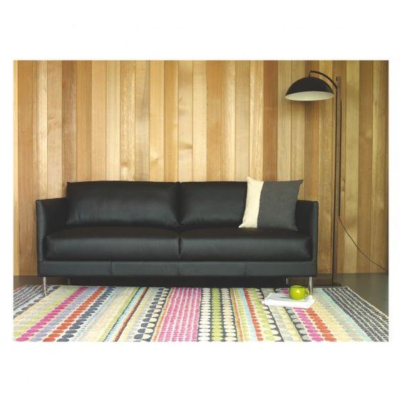BLOOMSBURY Large geometric wool rug 170 x 240cm | Buy now at Habitat UK