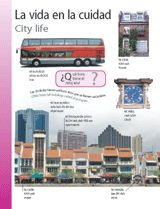 City Life (La vida en la ciudad) themed vocabulary -- Distribute these handouts to introduce Spanish vocabulary about city life.    Get the printables from TeacherVision: http://www.teachervision.fen.com/spanish-language/printable/70411.html