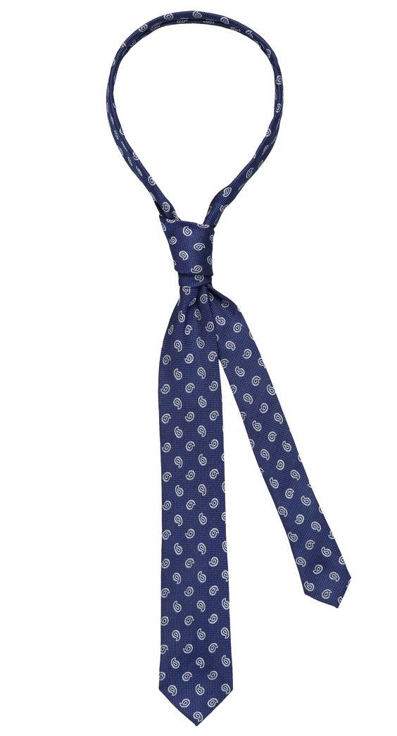 Tie dark blue pattern. Shop here: http://www.vangils.eu/en/ties