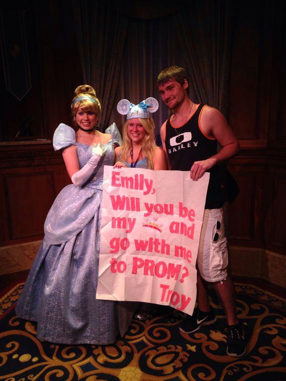Disney Princess Promposal