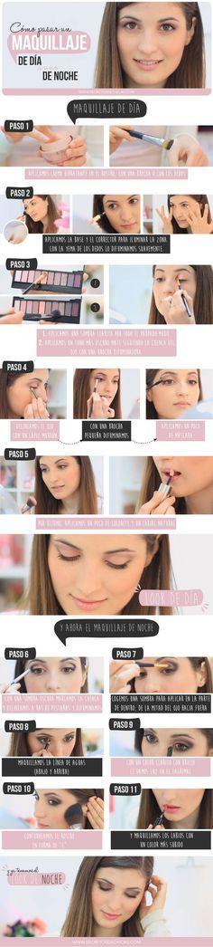 Como pasar un maquillaje de día a uno de noche - Secretos de Chicas by Patry Jordan