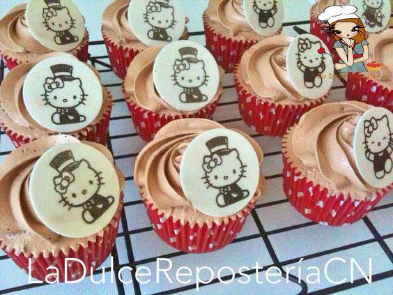Cupcakes para el cumple de Lucía