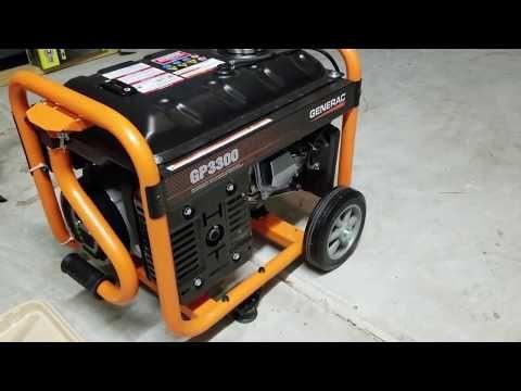 Generac Gp3300 Portable Generator Generators For Sale Portable Generator Home Backup Generator