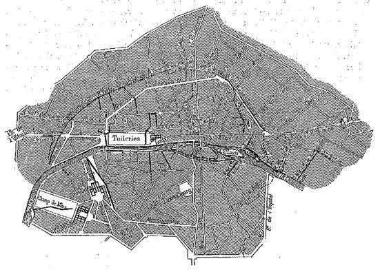 Les égouts de Paris au début du XIXe siècle