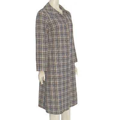 1960s Vintage Dress Coat Check Print Lady Flair of Dallas | #shopping #eBay
