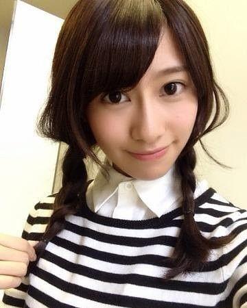 おさげの髪型の桜井玲香のかわいい画像