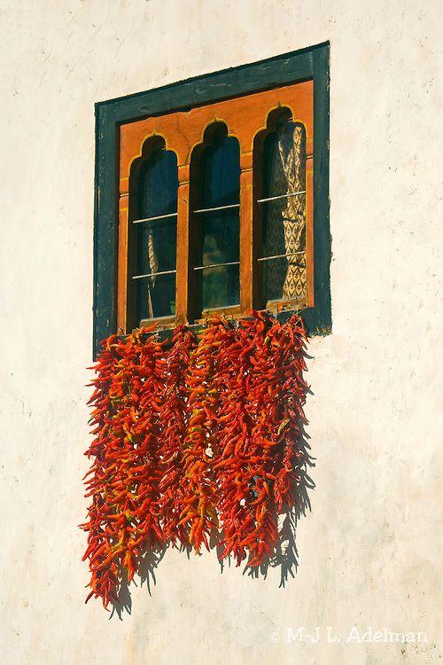 Chillies Drying Below Window | Thimphu, Bhutan