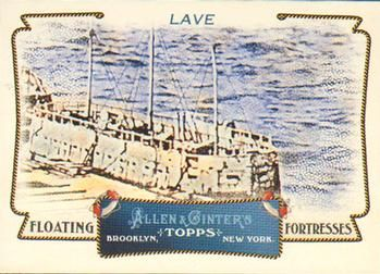 2011 Topps Allen & Ginter - Floating Fortresses #FF11 Lave Front
