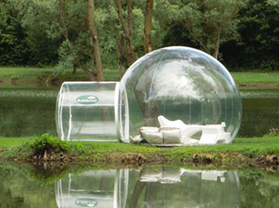 Bubbletree Tent. This would be amazing to camp/picnic in.