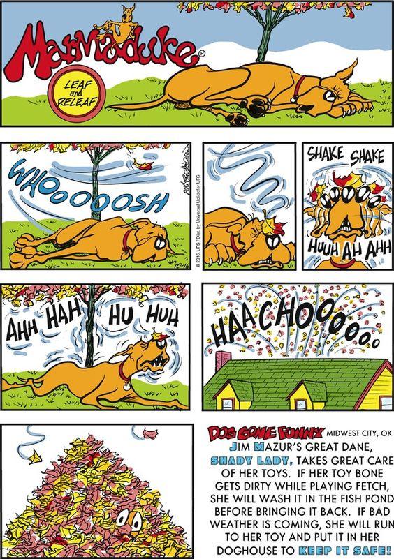comic strip marmaduke