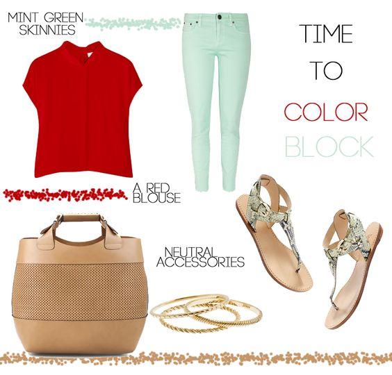 outfit mint jean - Buscar con Google